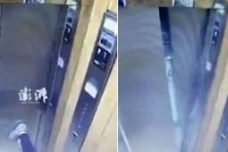 Punya Kekuatan Super Bocah 11 Tahun Tendang Pintu Lift