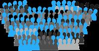 Versammlung von Arbeitnehmern
