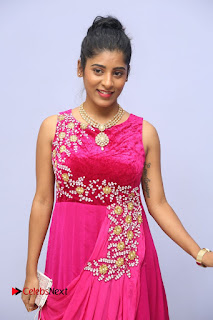 Actress athri Pictures in Pink Dress at Kobbari Matta Teaser Launch  0002