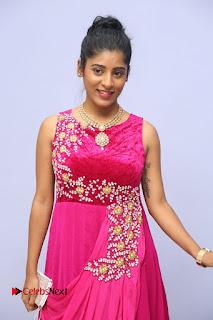 Gayatri Super cute Telugu actress in Lovely Sleeveless Pink Dress at Kobbari Matta Teaser Launch