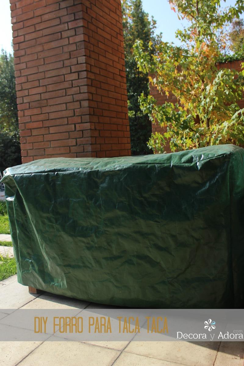 decora y adora: diy hacer funda de muebles exterior