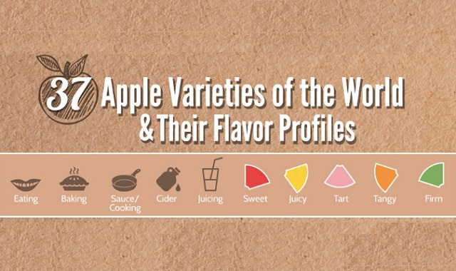 37 Apple Varieties Around the World and Their Flavor Profiles