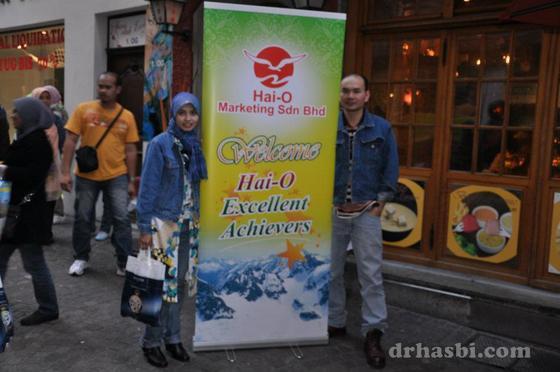 Melancong percuma ke Switzerland bersama Sahajidah Hai-O
