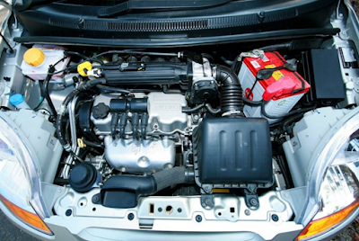 Foto Mesin Chevrolet Spark 1000cc