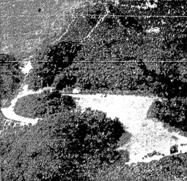 Platô/Esplanada ainda sem as construções entre os dois picos, em imagem de 1964. Foto: acervo Folha de S.Paulo