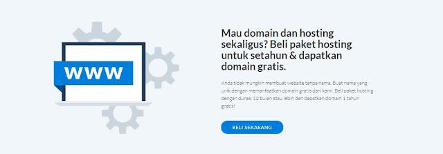 langganan 12 gratis domain