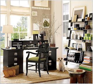 La oficina y la iluminación