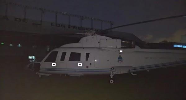 Escandaloso: Juliana Awada y Antonia usaron el helicóptero presidencial ¿para ir al recital de Shakira?