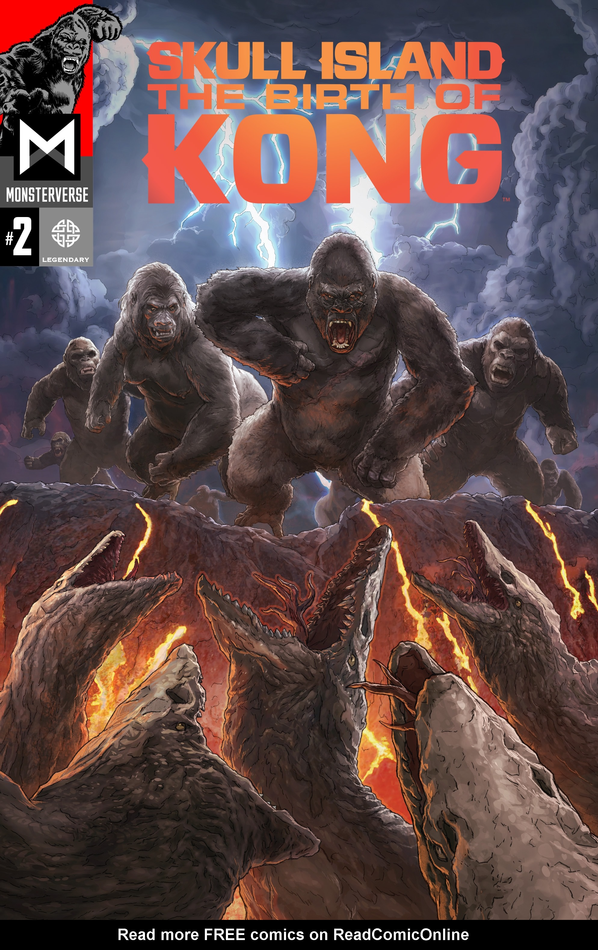 Read online Skull Island: The Birth of Kong comic -  Issue #2 - 1