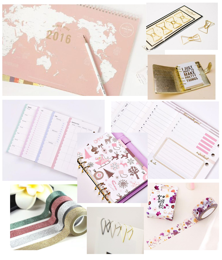 stationery, papelería, cute, cheap, aliexpress