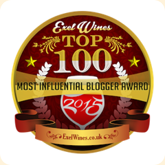 Winner Top 100 Most Influential Wine Blogs of 2015