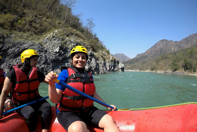 Rafting in Rishikesh Uttarakhand