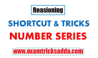 shortcuts and tricks of number series