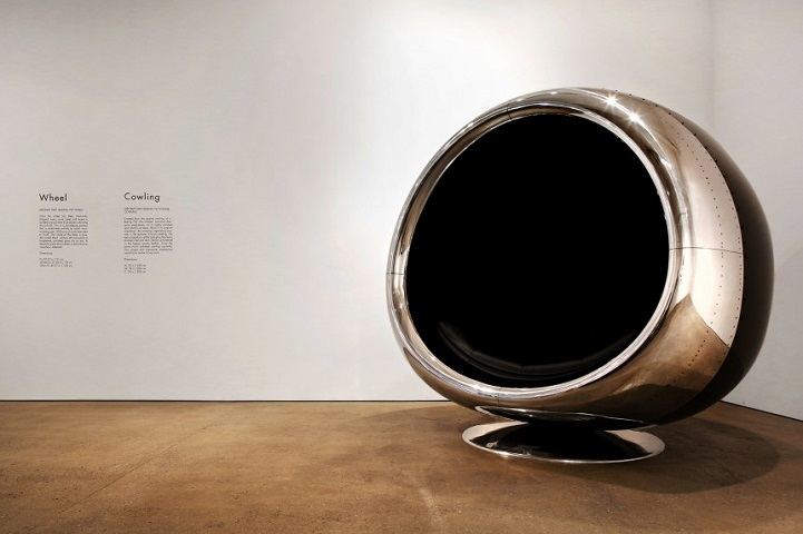 DESIGN FETISH Boeing 737 Jet Engine Transformed into a Massive Chair – Chair Fetish
