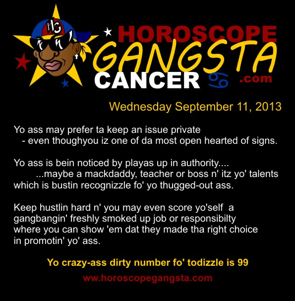 Horoscope Gangsta