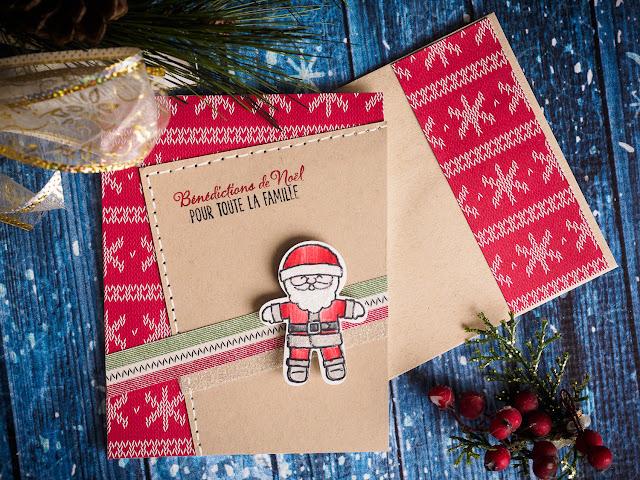 Carte de Noël Stampin' Up!