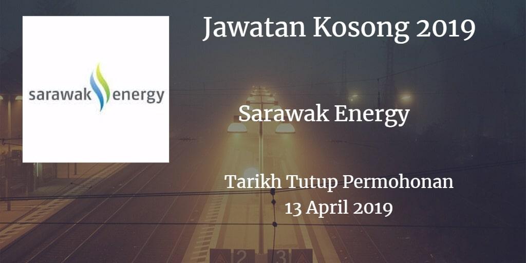 Jawatan Kosong Sarawak Energy 13 April 2019