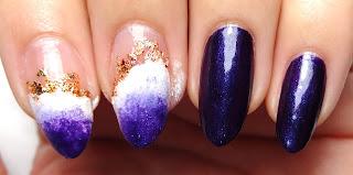 Geode Gradient Nails
