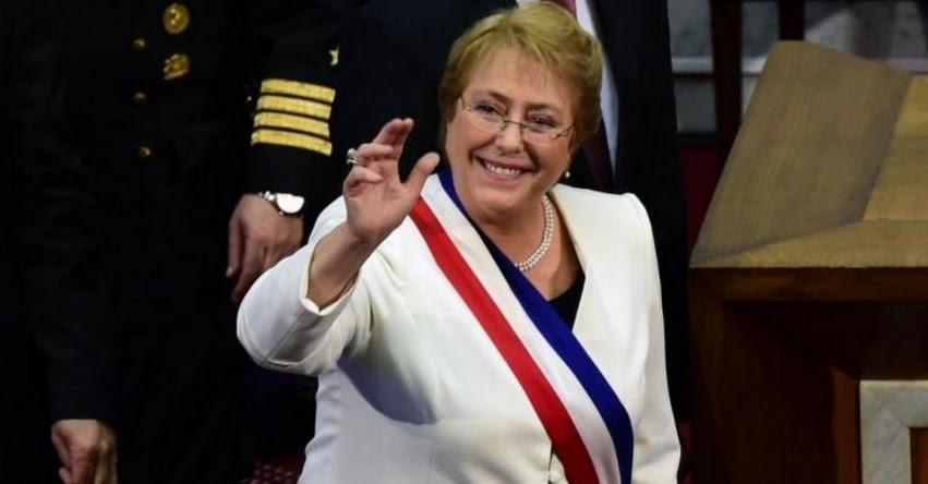 CHILE: Presidenta Michelle Bachelet expresa solidaridad con Perú ante lluvias y desbordes de ríos
