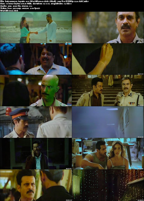 Satyameva Jayate 2018 Full Hindi Movie Download Hd Mp4 Pre DVDRip 700Mb