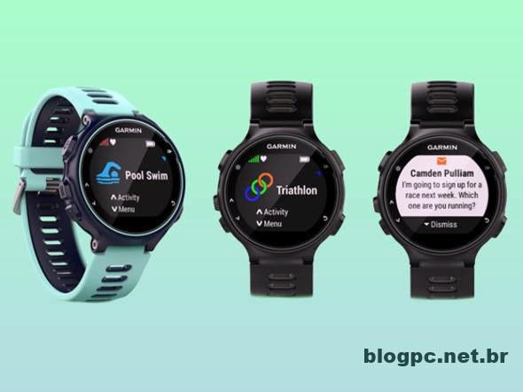 Relógio 735XT da Garmin é para quem realmente curte esportes