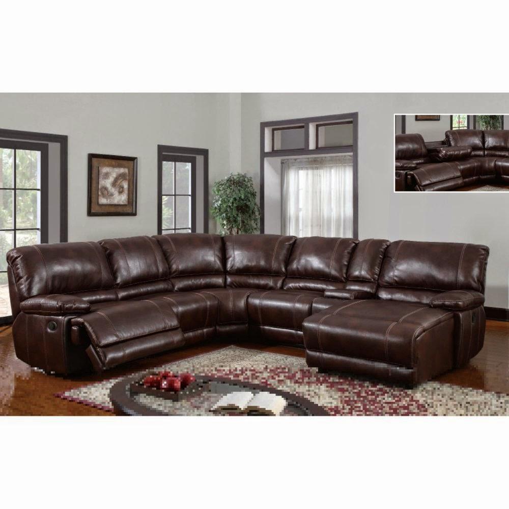 Reclining Leather Sofa Set