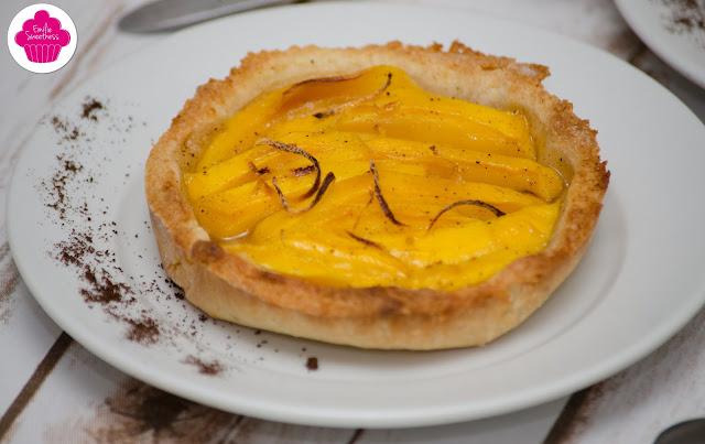 Tartelettes mangue et citron - sans gluten, sans lactose de la Box Nature Curieuse