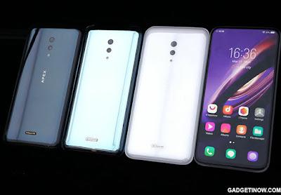 Spesifikasi dan Fitur Vivo Apex, Smartphone Masa Depan dari Vivo