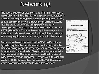 HTML WORLD WIDE WEB BORN TIM BERNERS-LEE