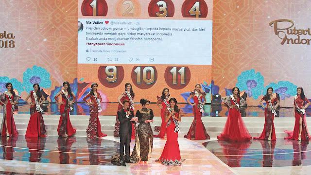 Inilah Peraih Gelar Puteri Atribut di Ajang Puteri Indonesia 2018