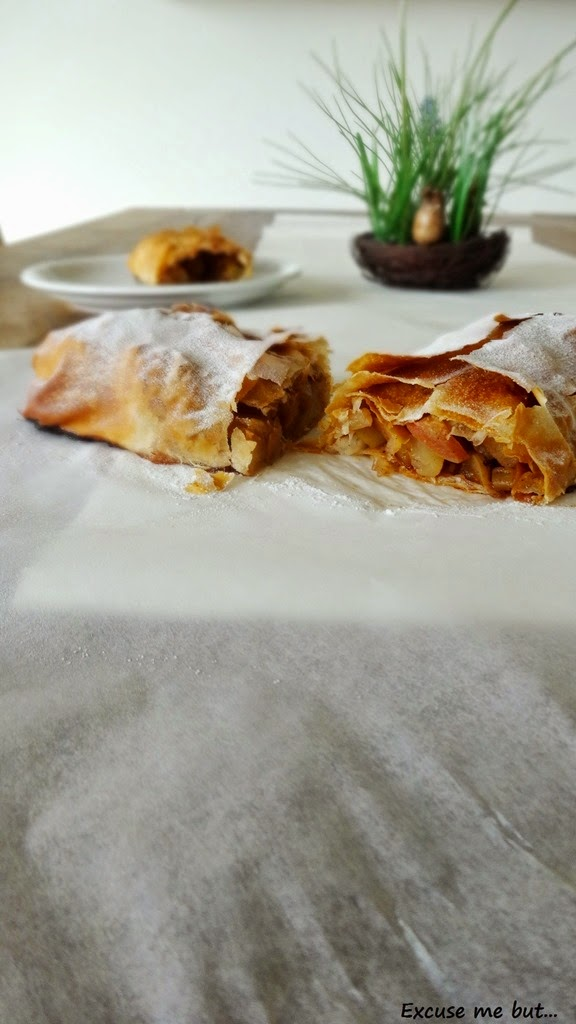 Apple Strudel vegan
