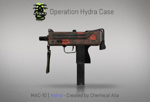 Operation Hydra Case - MAC-10 | Aloha