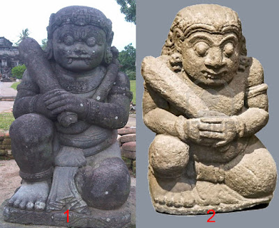 Mayan Dwarapala Statue Hoax