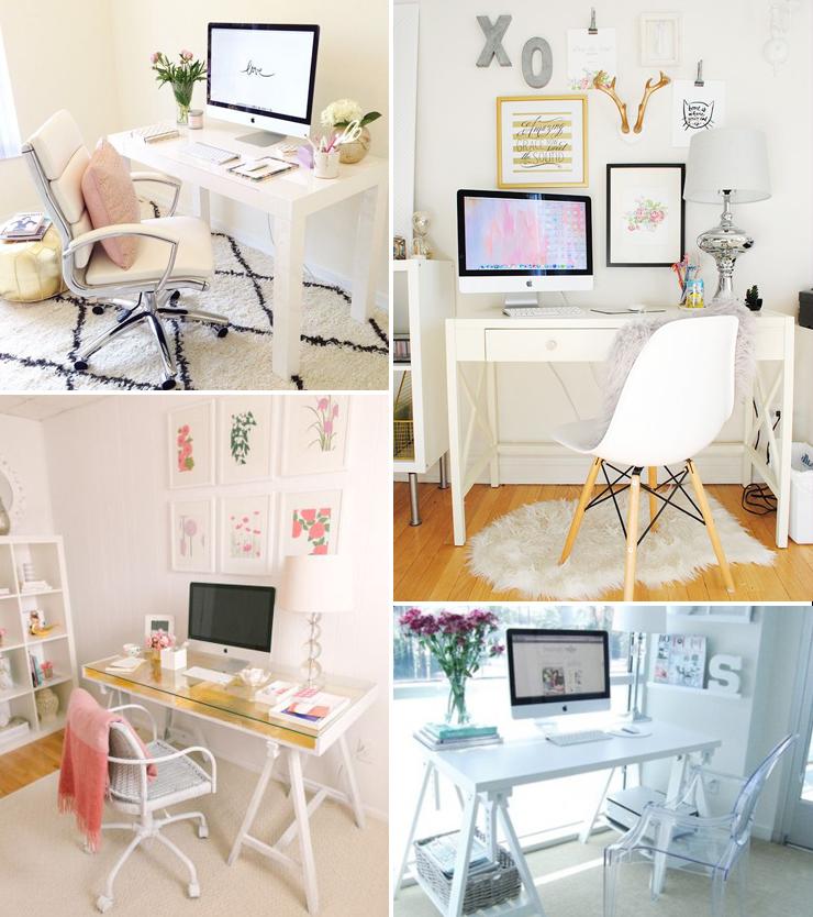 Comportamento, Texto, Séries, Filmes, Livros, Beleza, Maquiagem E Mais!: Inspire-se: Home Office Clean