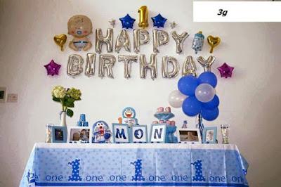Set bong bóng trang trí sinh nhật cho bé 2