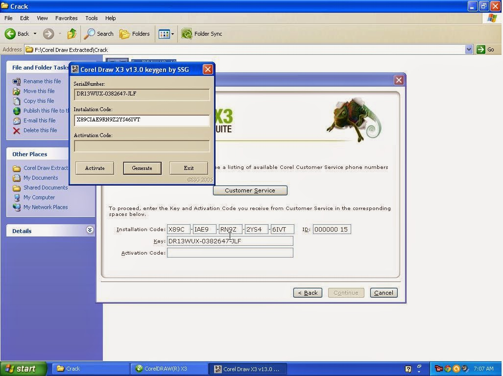 Corel draw x3 activation code | softwarespk.