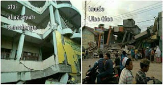 Masya Allah... Gempa Pidie Jaya Aceh Setara 4 Hingga 6 Kali Bom Atom Hiroshima