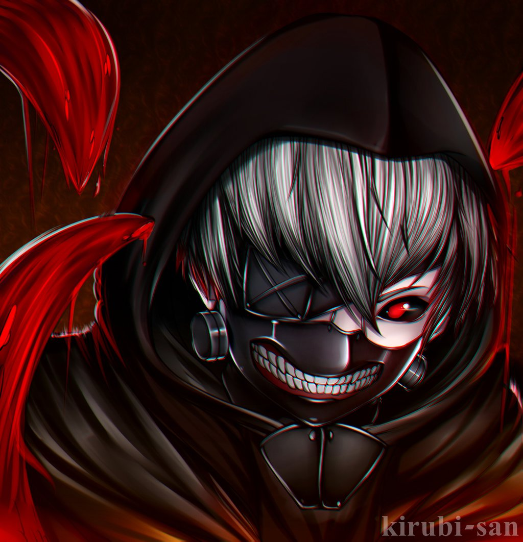 Tokyo Ghoul Kaneki Download Gambar Anime Keren Gambarku