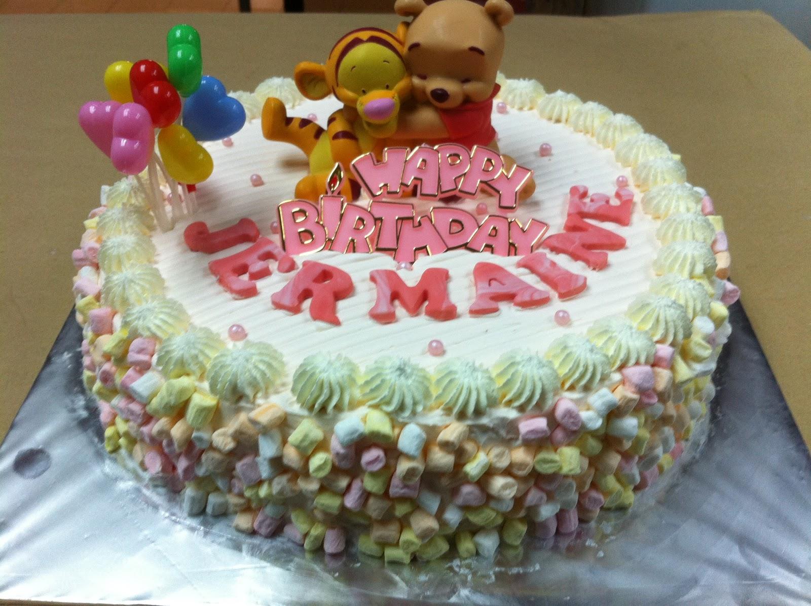 Haven Bakery Jermaine S Pooh Bear Birthday Cake