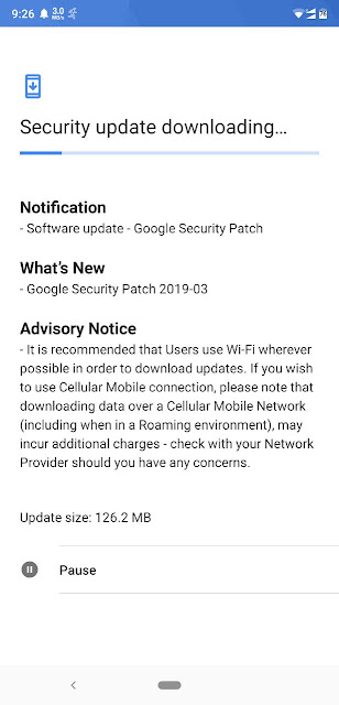 Nokia 8.1 receiving March 2019 Android Security Update