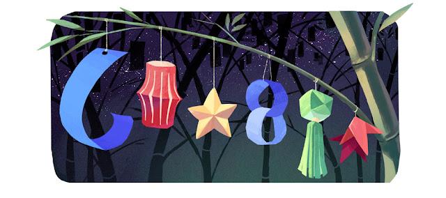 Tanabata 2016 - Google Doodle