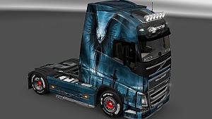 Volvo 2012 Fallen Angel skin mod