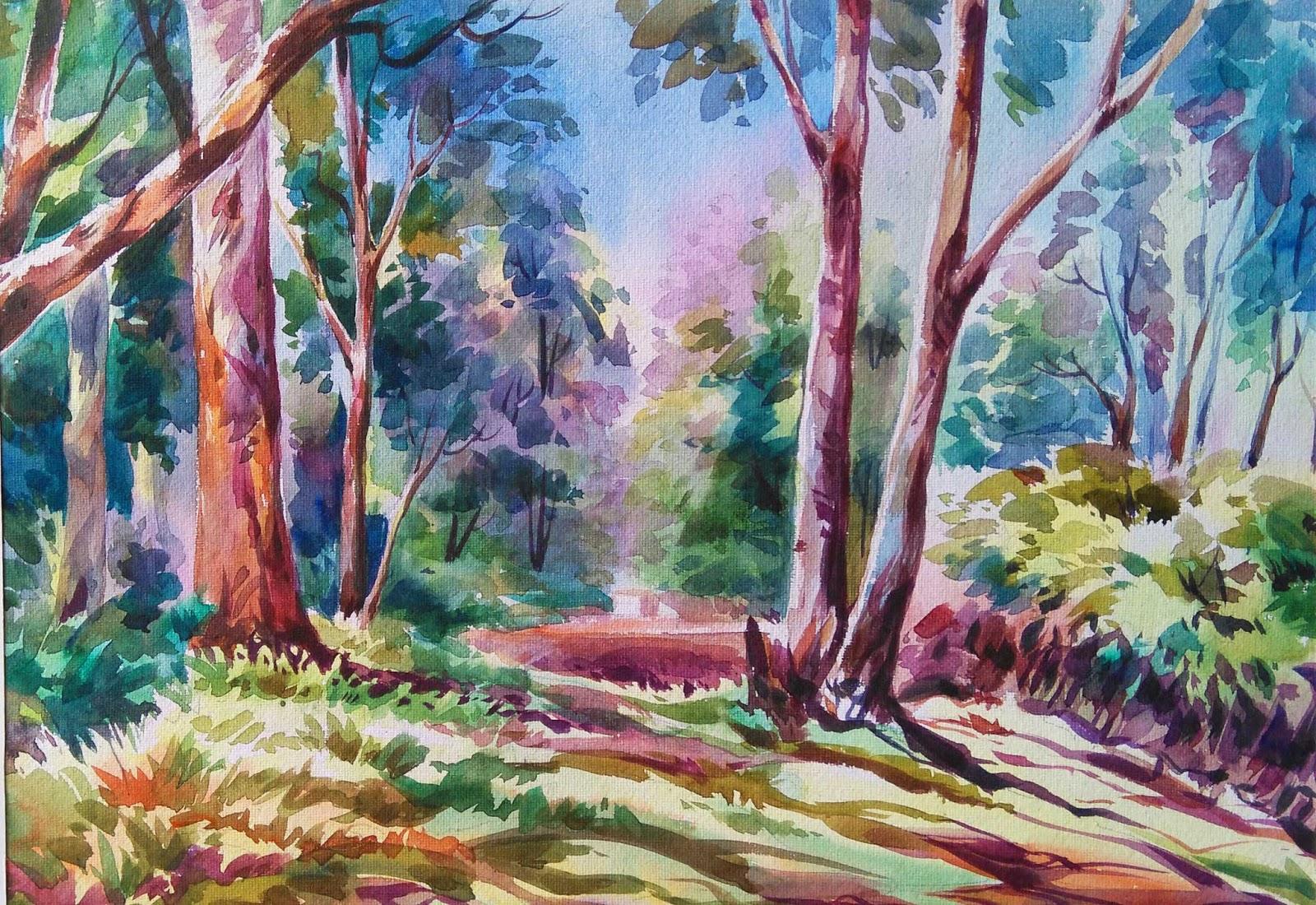Color Pencil Drawings Landscape - Landscape Ideas