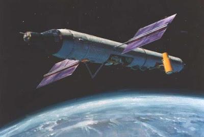 Terungkap, Stasiun Angkasa Rahasia AS Masa Perang Dingin