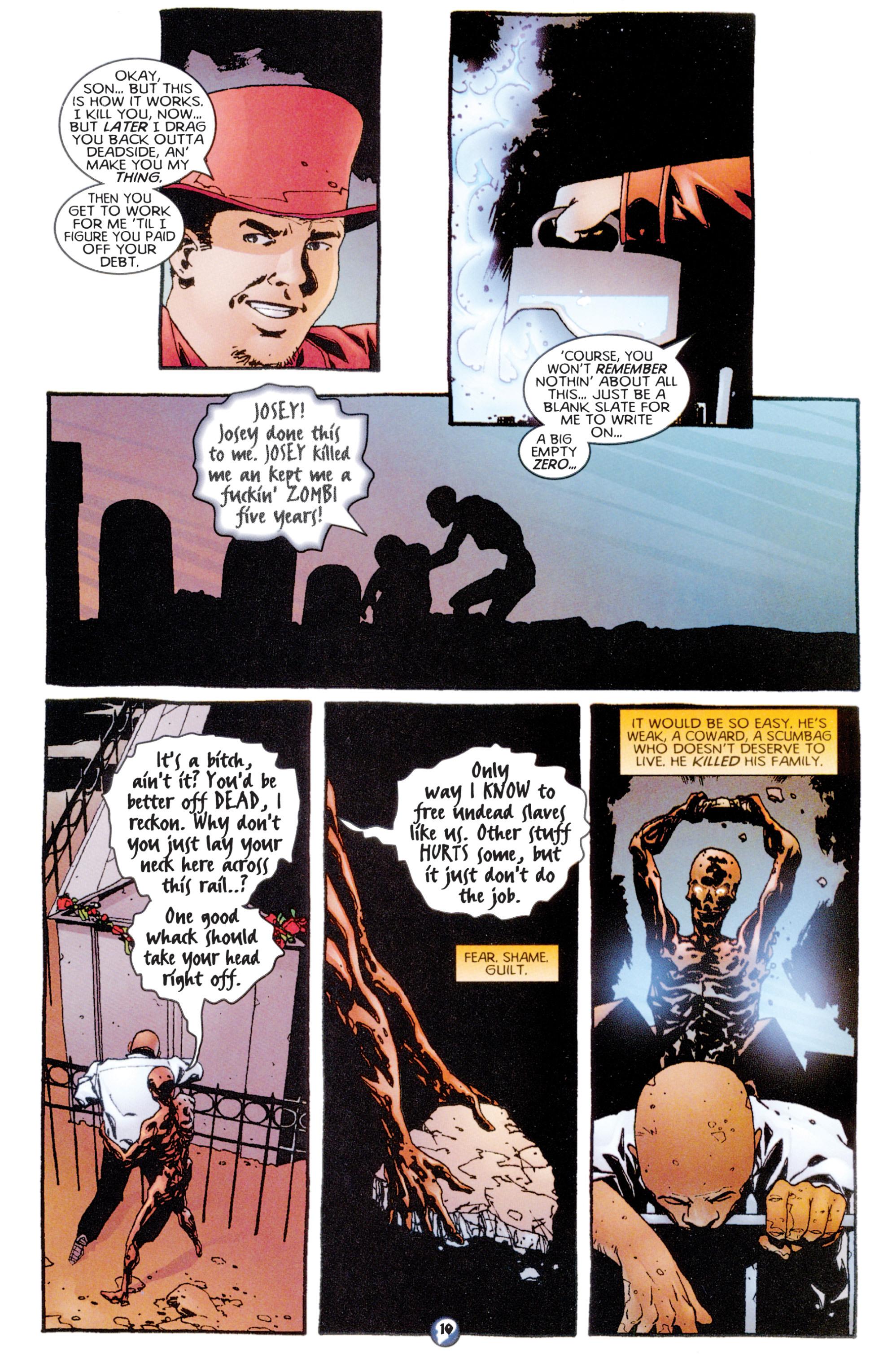 Read online Shadowman (1997) comic -  Issue #7 - 9
