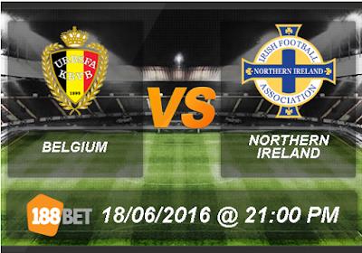 Belgia vs Republik Irlandia 18 Juni 2016