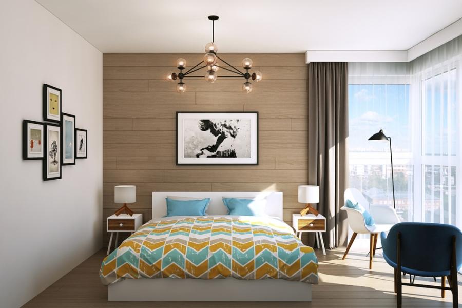 wystrój wnętrz, wnętrza, urządzanie mieszkania, dom, home decor, dekoracje, aranżacje, styl skandynawski, scandinavian style, ciepłe kolory, sypialnia, bedroom