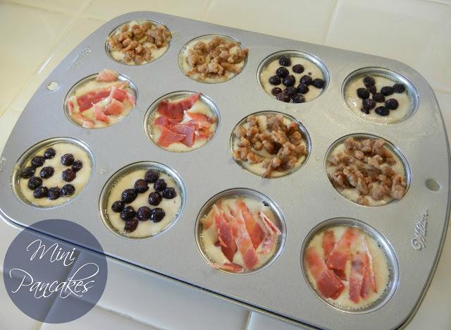 Lake House Lyn: Easy Weekend Pancake Bites |Individual Ice Cream Cups Gfs