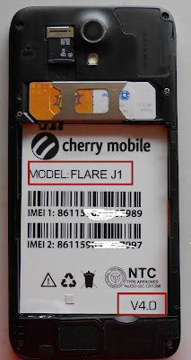Cherry Mobile Flare J1 V4.0 Stock Rom