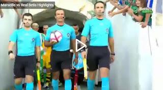 Video Olympique Marseille 2 - 3 Real Betis: Vòng sơ loại Champions League